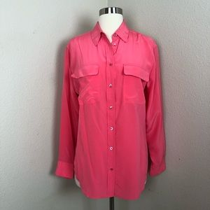 Equipment Femme Signature Pink Blouse
